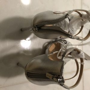 Badgley Mischka Shoes - Silver Heels